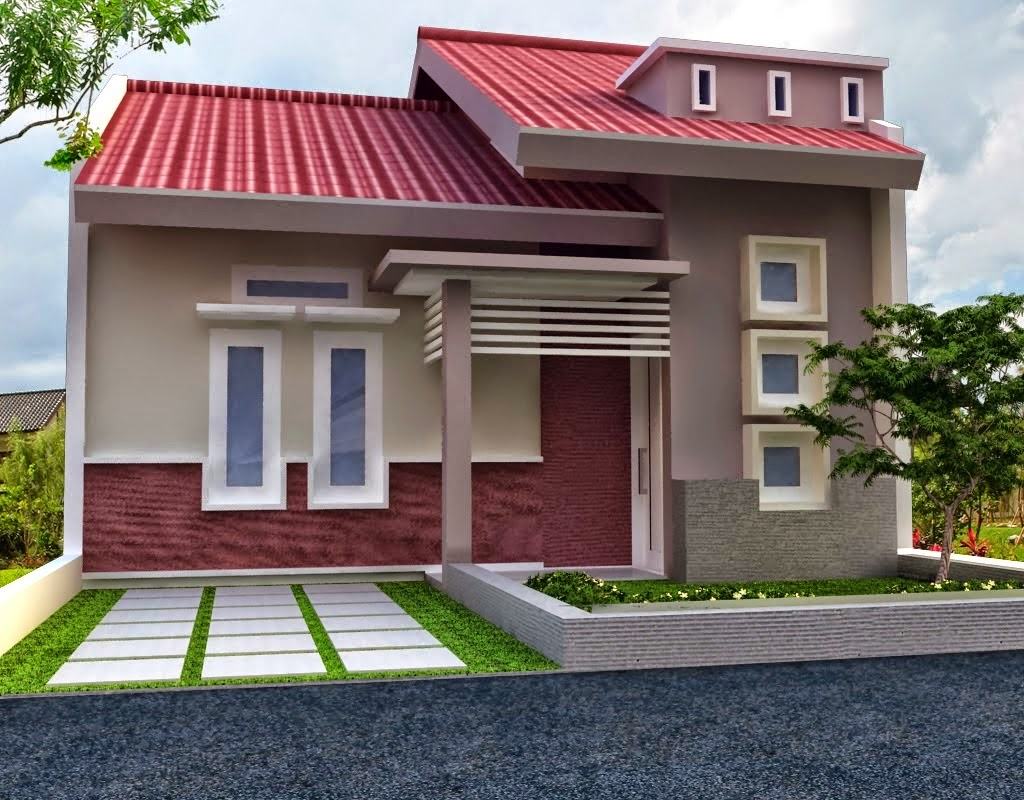 Warna Cat Eksterior Rumah Minimalis Modern Tampak Depan Batam Stay
