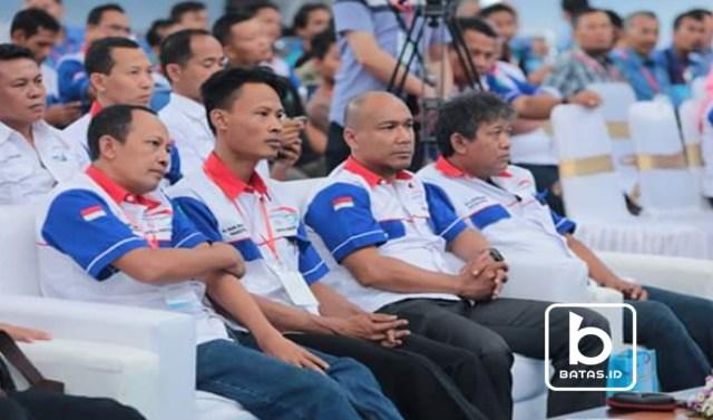 Pengurus PITU : dari kiri ke kanan : Ir. Zaki Abdul Wahid, H. Nur Ekhwan, Pri Nurhartono dan Drs. Wirnando / Foto Bagus Ismantoro/batas.id