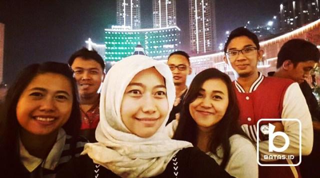 Selfie, Foto : Siti Dijee/batas.id
