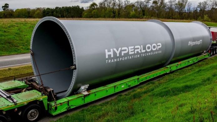 Transportasi Hyperloop Mulai Dibangun di Dubai