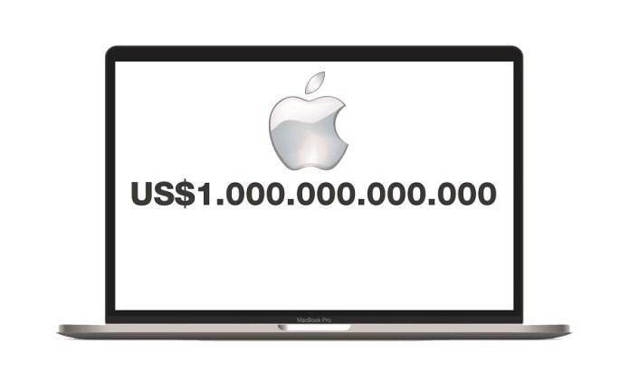 Dahsyat! Apple Jadi Perusahaan US$1 Triliun