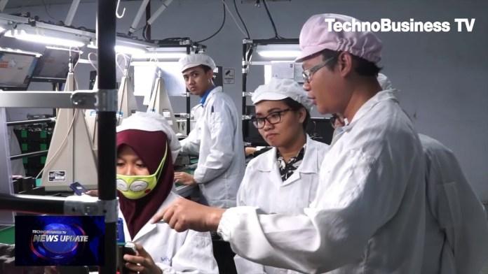 Menilik Pabrik Ponsel Pintar Vivo di Cikupa, Tangerang