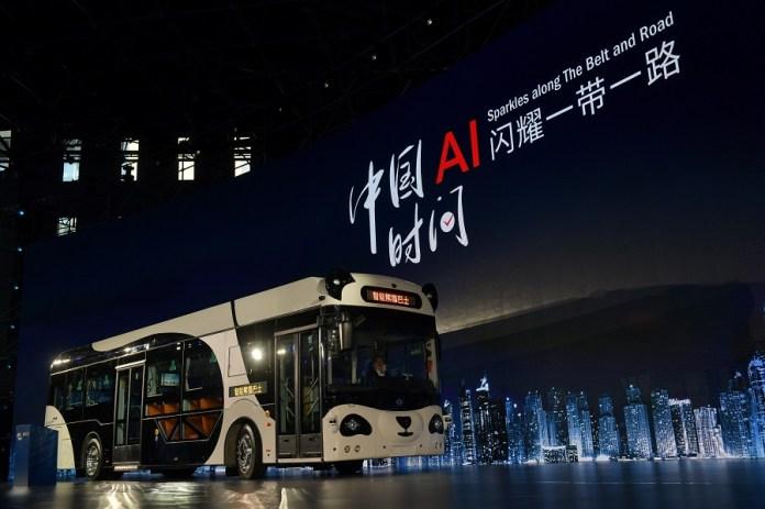 Wow, Canggihnya Smart Panda Bus Buatan China Ini