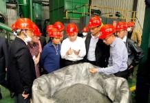 Inalum Gandeng Produsen Material Baterai Terbesar di Dunia