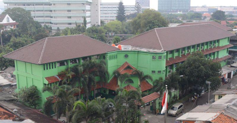 bangunan SMAN 4 Jakarta