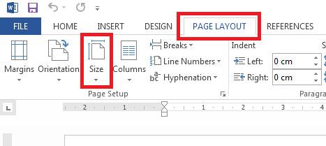 Klik page layout