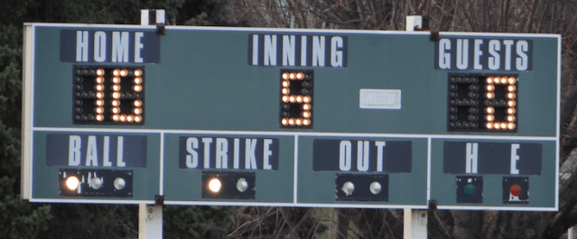 Tuesday's HS Sports Scoreboard (05/15/2018) Rain abbreviated schedule