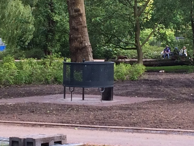 Het is gedaan met de homobaan in het nieuwe Oosterpark
