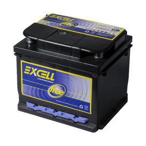 Bateria Excell Free 45Ah 12V EXF45BE