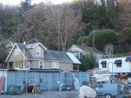 Houses in Riverside off West Marginal Way SW