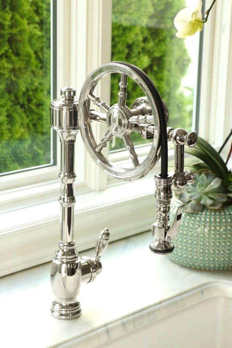waterstone 5100 wheel pulldown faucet