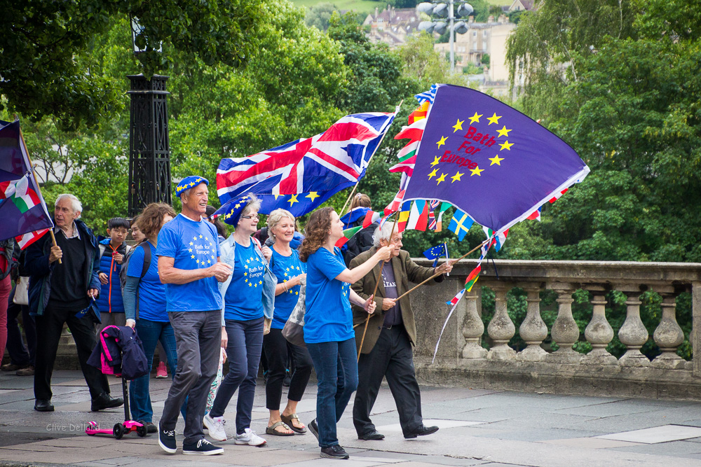 One year on: rally against Brexit