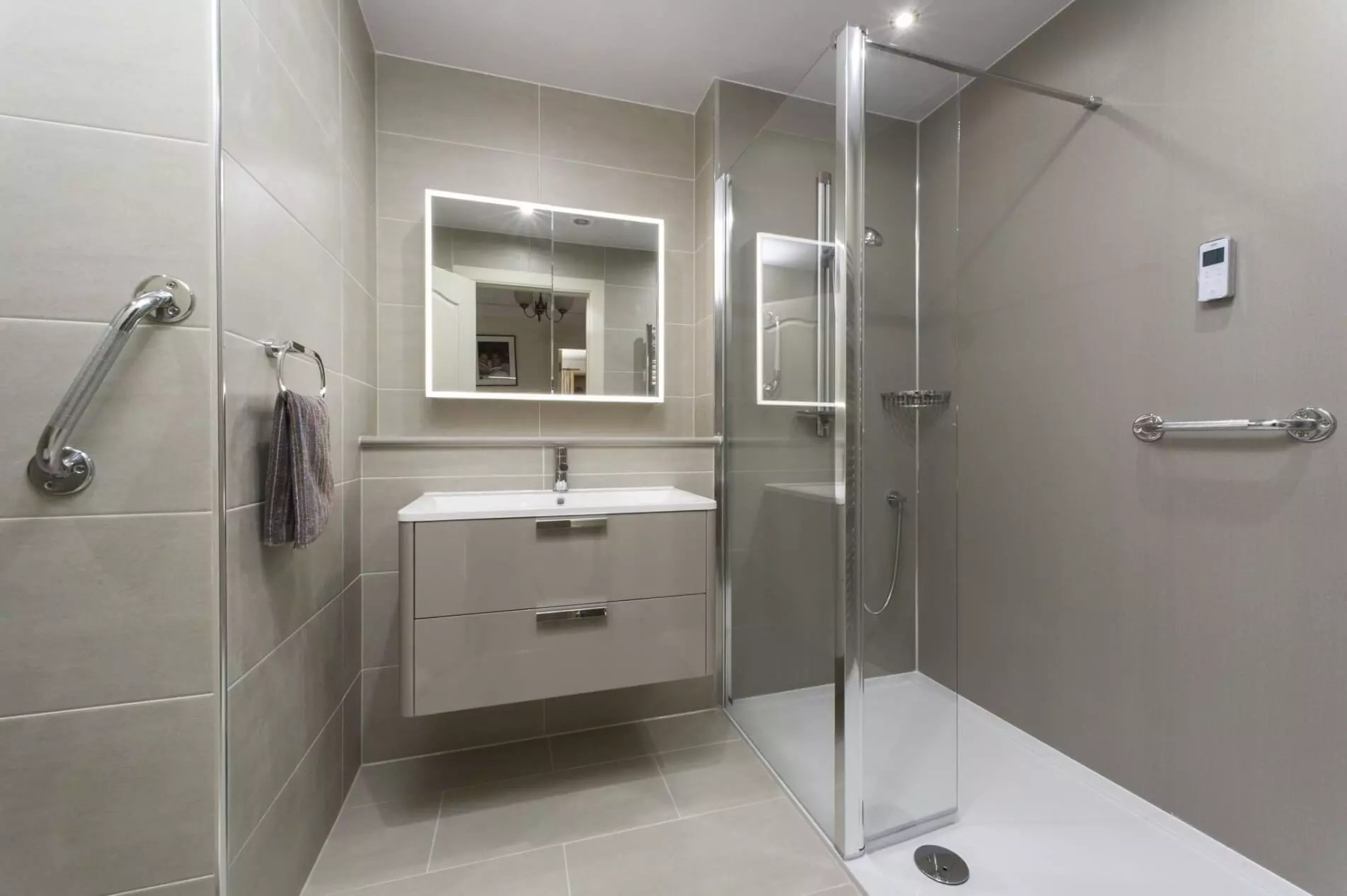 grab rails for your bathroom