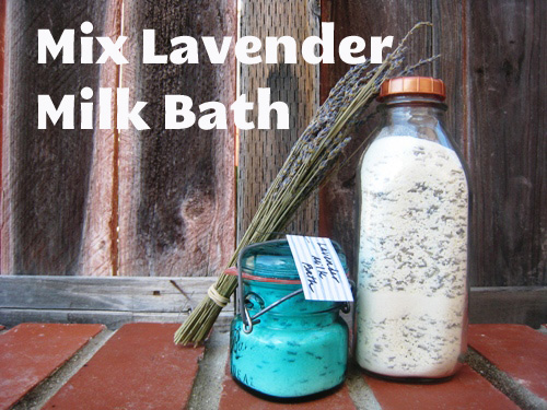 Homemade For The Holidays Day 8 Lavender Milk Bath