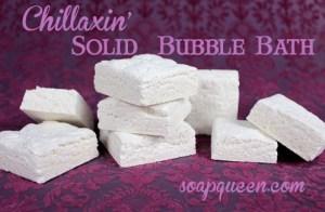 solid bubble bath
