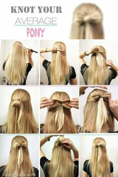 Know you average pony tail