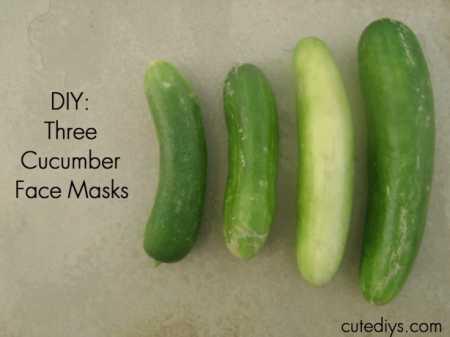 3 Homemade Cucumber Mask Recipes