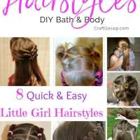 8 Quick And Easy Little Girl Hairstyles