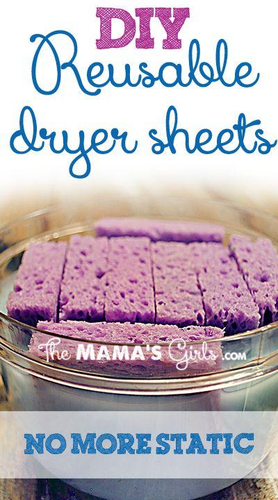 DIY Lavender EO Dryer Sheets