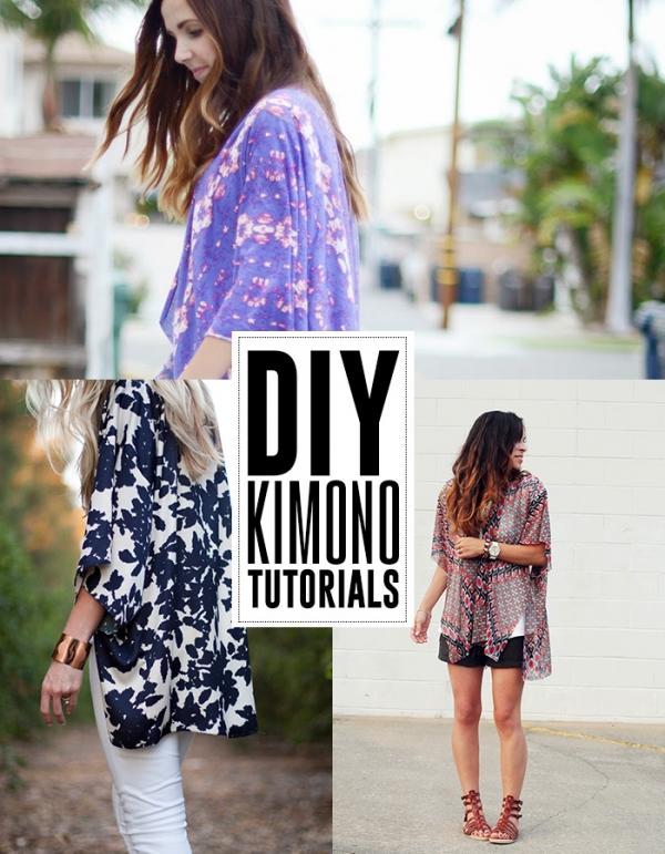 Style Me Quick – DIY Kimonos
