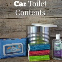 DIY Emergency Car Toilet