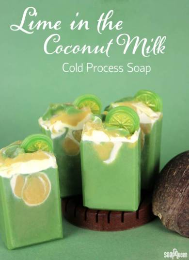 Lime-in-the-Coconut-Milk-Soap-Tutorial