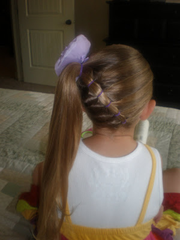 7 Cute Hairstyles From A Ponytail Bath And Body