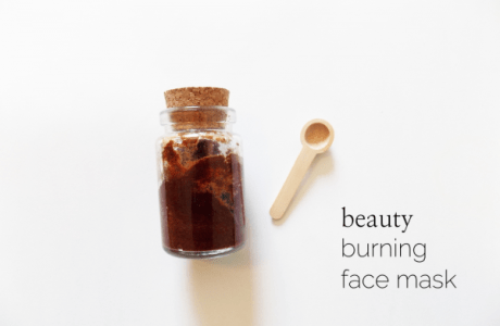 Burning Face Mask To Reduce Acne Scars