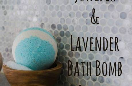 Juniper & Lavender Bath Bombs
