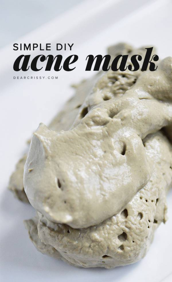 Make Your Own Acne Face Mask