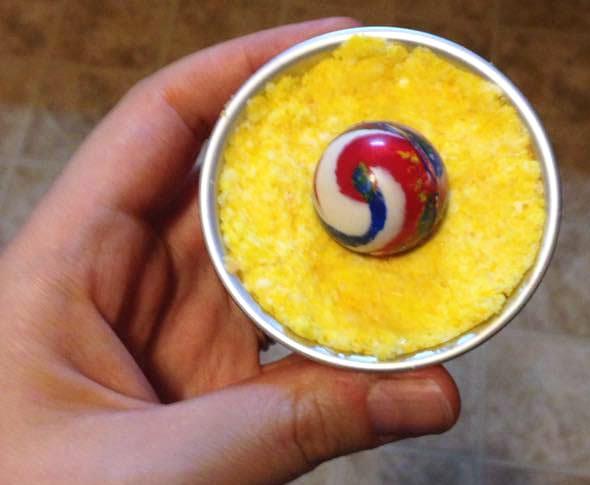 DIY Bath Bomb With Toy Inside