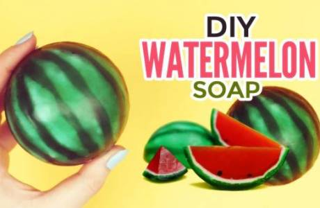 Soap Making Video – Watermelon Soap