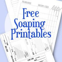 Free Soap Making Printables