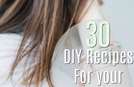 Top 30 DIY Recipes For Your Hair