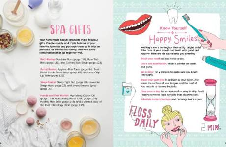 Book Review And Giveaway – Girls Home Spa Lab
