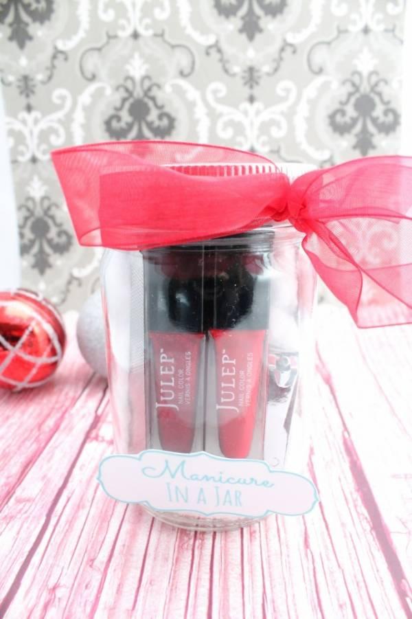 DIY Manicure In A Jar Gift Idea