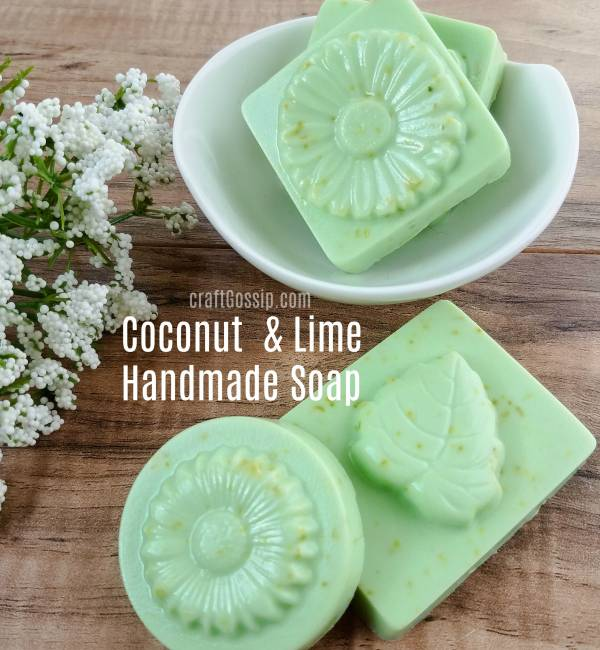 Diy Soap Making Coconut And Lime Bath And Body