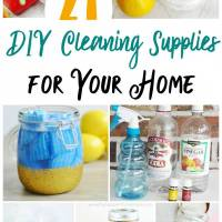 21+ DIY Cleaning Recipes For Your Home