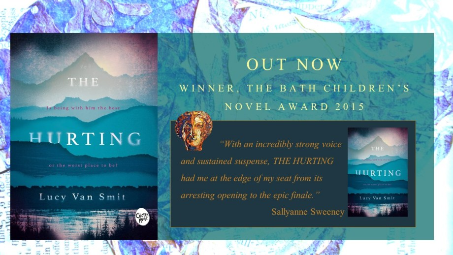 The Hurting by Lucy Van Smit, winner of the inaugural Bath Children's Novel Award