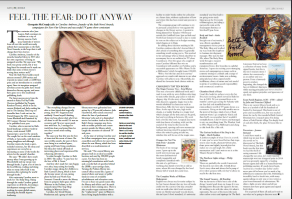 Bath magazine interview with Bath Novel awards founder and public libraries campaigner Caroline Ambrose