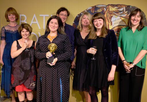 L to R Emily Hughes, Leigh Chambers, Kate Simants, Robin Falvey, Caroline Ambrose, Kate Longman, Louise Tucker Photo credit: Emma Seal