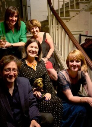 L to R Robin Falvey, Louise Tucker, Kate Simants, Leigh Chambers, Emily Hughes Photo Credit: Emma Seal
