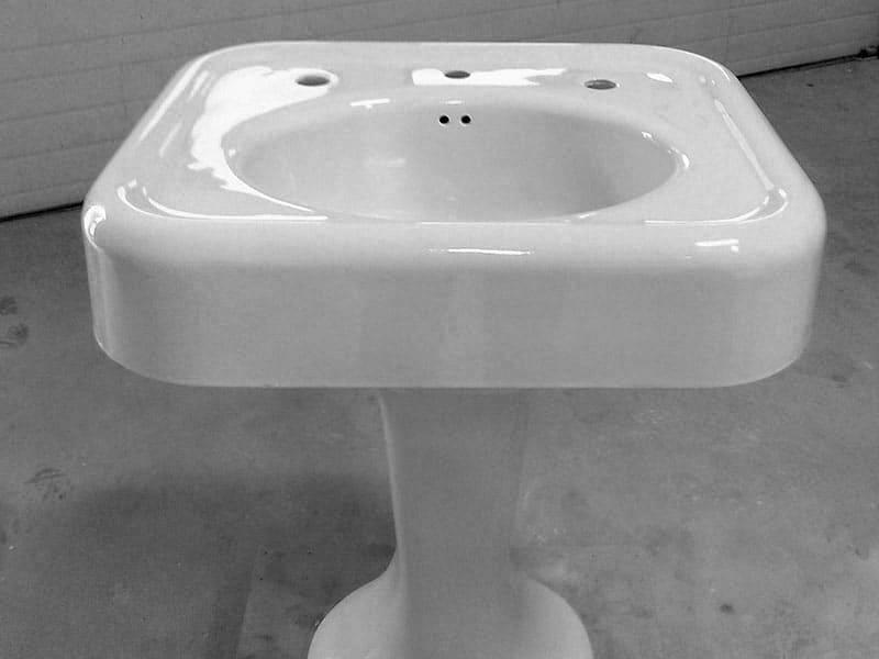 bathroom sink refinishing performance adhesion aesthetics