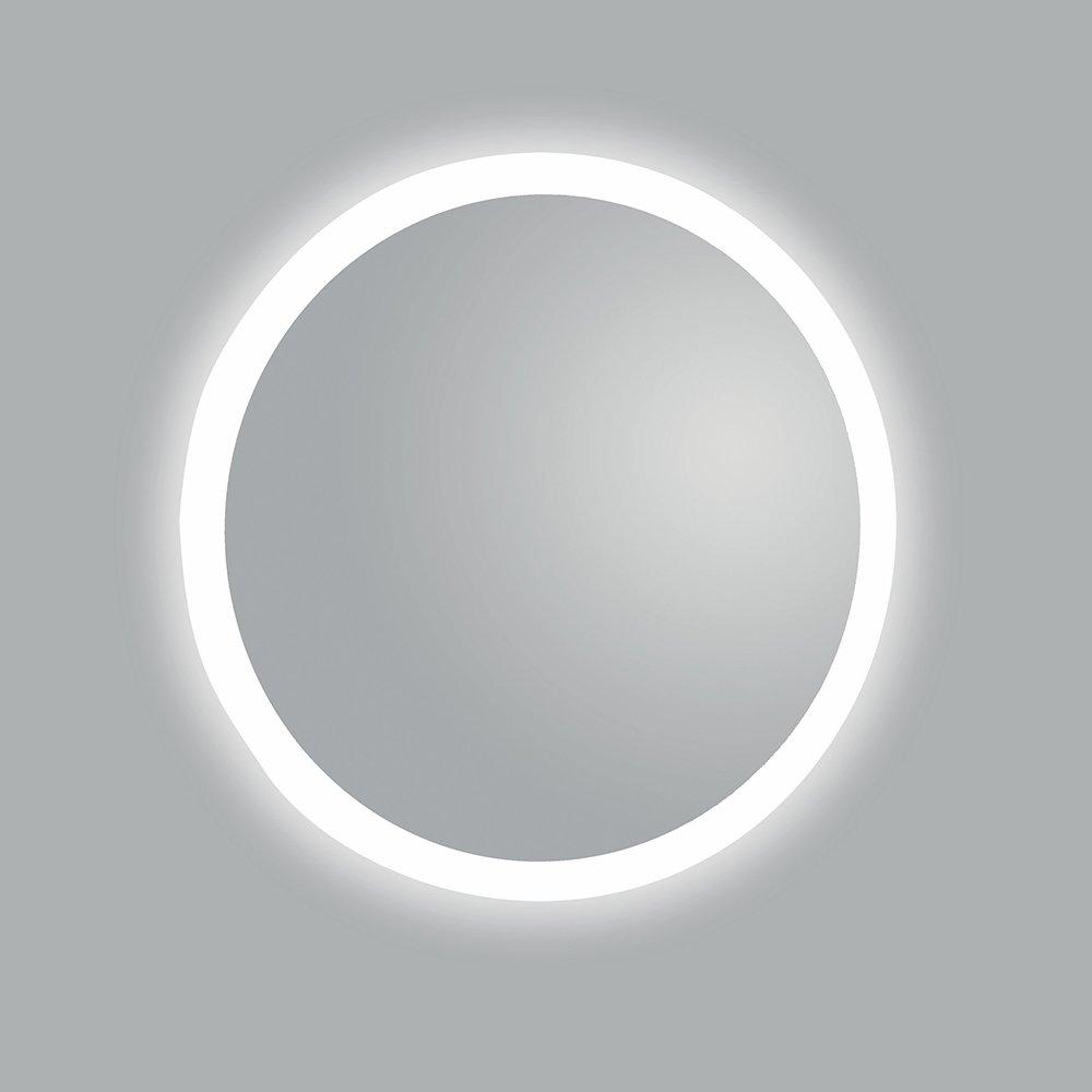 Round LED Bordered Mirror Bathroom Cladding Direct