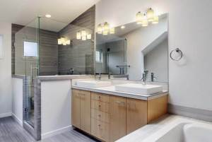 how to remove bathroom light fixture with no screws