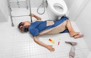 Prevent Slippery Bathroom Floor