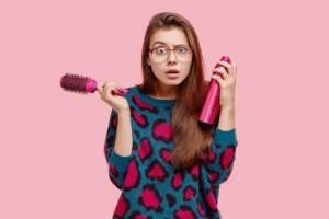 How To Remove Hairspray Buildup In Bathroom