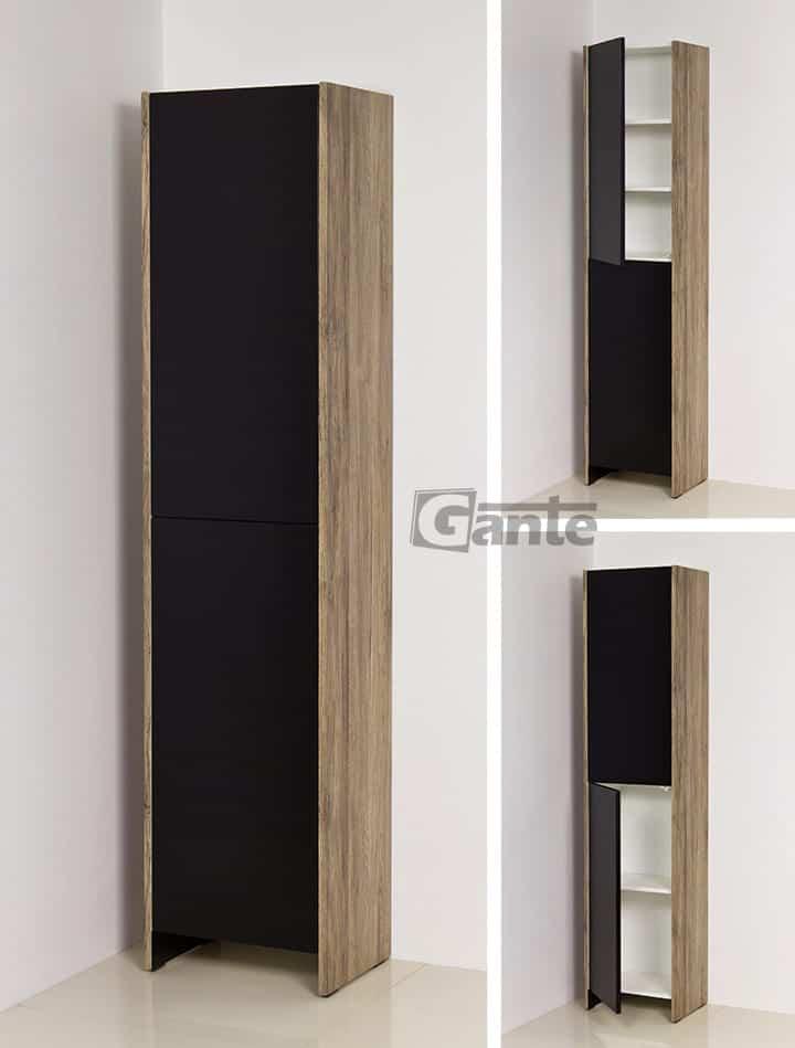 Tall Storage Unit 40cm black