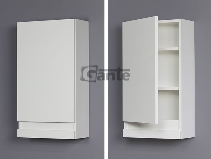 White bathroom cabinet 40cm