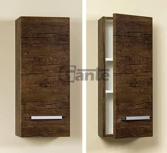 bathroom cabinet 30cm antique wood